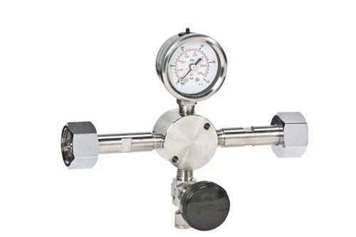 Umfülladapter, für Brenngase/giftig, DIN 477-1 Nr. 5, Edelstahl