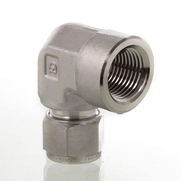 Hy-Lok Aufschraubverschraubung L-Form Typ CLF-N