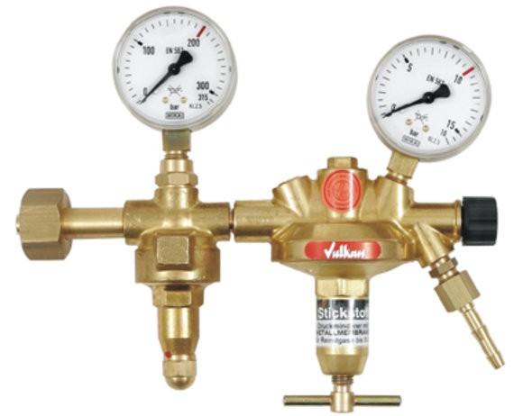 Flaschendruckminderer CO2/Argon 0-10 bar Vulkan F10/2 200 Effect