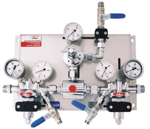 Automatische Umschaltgruppe Modula AM 35/300 K LabLine Druckluft