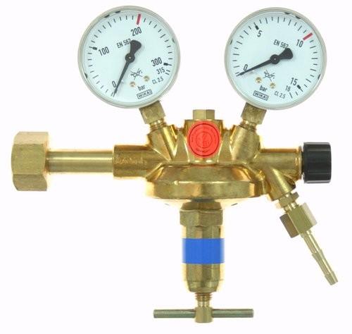 Flaschendruckminderer CO2/Argon 0-10 bar Vulkan F10/200 Effect