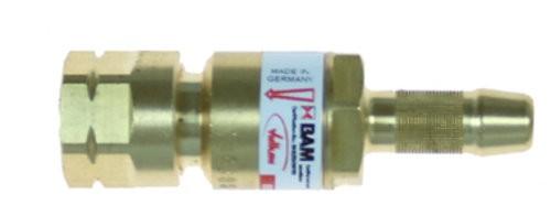 Einzelflaschensicherung Sauerstoff G 1/4 RH
