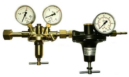 Flaschendruckminderer Brenngas 0-600 mbar Vulkan F10/2 NP